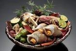 「秋の料理」 焼肴法楽盛り