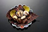 「秋の料理」 八寸