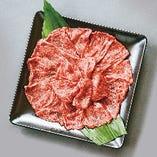 【ご宴会料理】「大和牛しゃぶしゃぶコース」飲み放題付7,500円(税込・1名様)奈良のブランド牛肉「大和牛」を使った贅沢なしゃぶしゃぶです。前菜、御造り、デザート付き。良質なお肉のうま味がスープに溶けだし、野菜、〆のうどん(または雑炊)まで、すべてが最高の美味しさ!