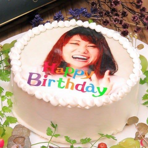 写真ケーキで忘れられない思い出に