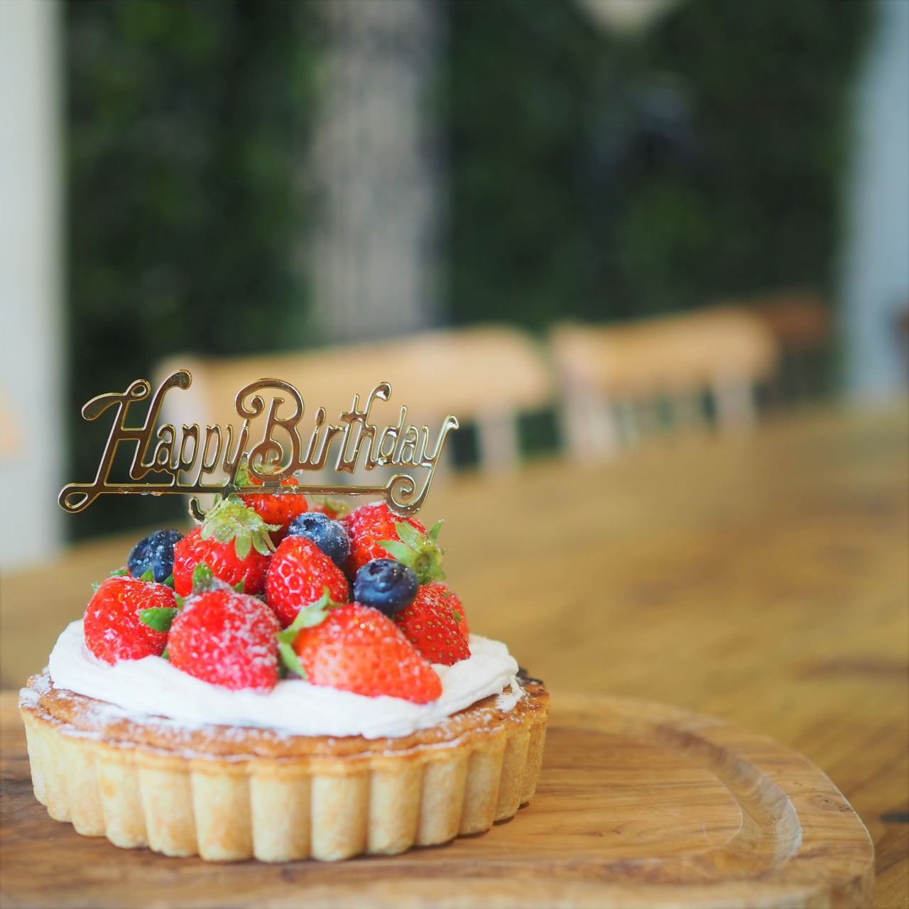 誕生日&記念日におすすめ フルーツタルトでサプライズプラ◎ン3500(税込)
