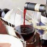 ソムリエであるオーナーのイタリアンとワインのペアリング。