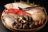 毎日 新鮮な魚介類が入荷しています