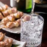 [燦鶏オリジナル] 特別純米酒や麦焼酎等燦鶏オリジナル酒も!!