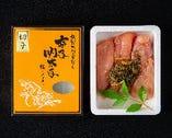 自家製辛子 「久留米かぶせだし明太子」有名酒蔵とコラボ商品