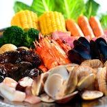 アイス4種食べ放題&2H飲み放題付 CATCH THE SEAFOOD!!コース 5,000円(税別)