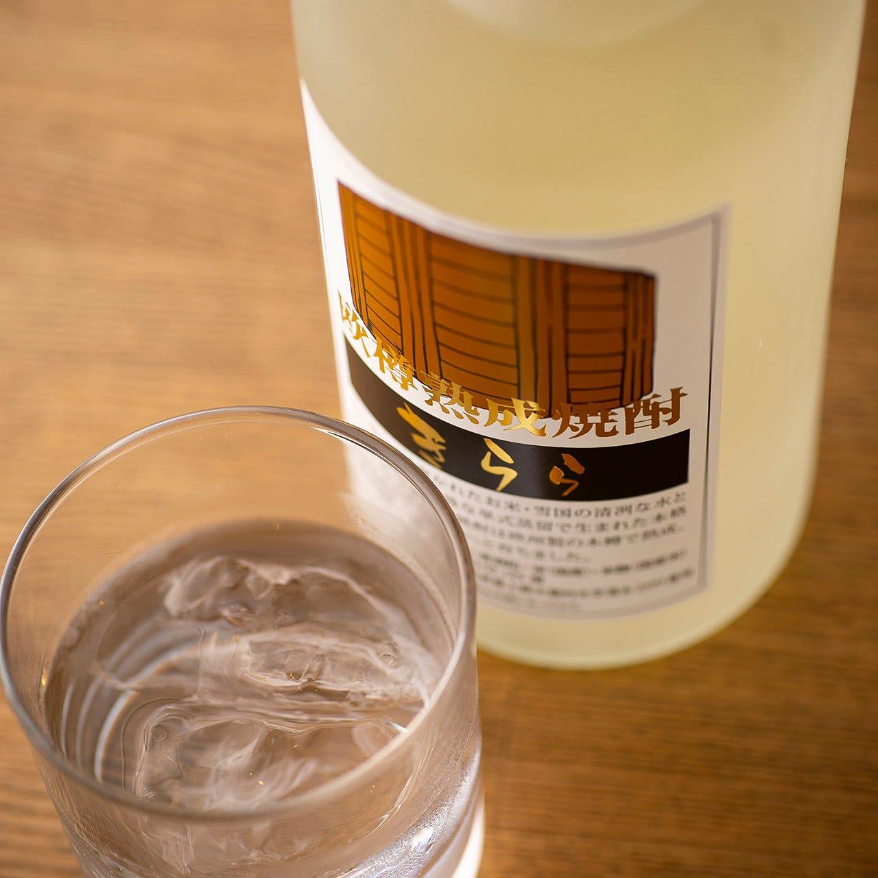 厳選仕入れの焼酎や淡路の日本酒