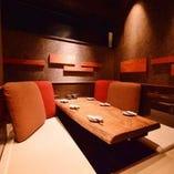VIP個室や団体様用座敷個室もご用意。最大30名様まで利用可能。