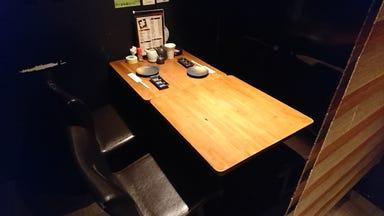 串かつと鉄板鍋 うえつき 茨木店 店内の画像