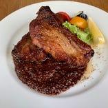 ◆ポークスペアリブ BBQスタイル ~ごろごろ野菜を添えて~