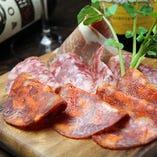 イタリア産生ハム&サラミ&チーズ
