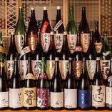 日本酒にはこだわりが詰まっています!29種飲み放題もございます