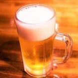 ビールにこだわる♪【飲み放題にはビールも含みます】