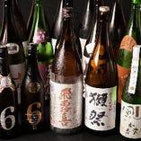 獺祭も飲み放題!飲み放題プランの中に獺祭や珍しい日本酒も