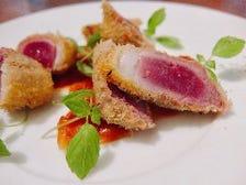 ◆絶品の「河内鴨料理」