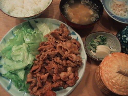 定番メニュー ◆豚肉の生姜焼き◆