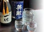 定番から、直営店ならではのしぼりたてのお酒まで、様々な英勲を揃えています。