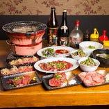 忘年会が充実の2時間飲み放題付コースは4,000円から。