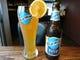 クラフトビールのBlue Moonはオレンジ風味で女性に人気です。
