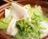 ほたる自慢のあら鍋(くえ鍋)コース 6500円 (お料理7品)
