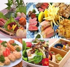 岡本庵定番肉盛りコース[お料理6,600円}
