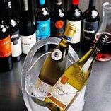 ワインの飲み放題もご用意しています
