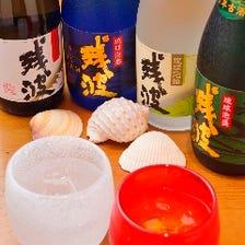 沖縄のお酒「泡盛」の品揃え充実◎