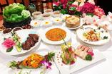 中華宴会フルコースに飲み放題が付いたお得なプランも充実!
