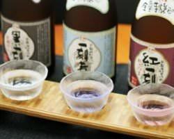 薩摩の利き酒芋焼酎 3種呑み比べ...580円