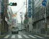 横浜銀行さん前の横断歩道まで来られると