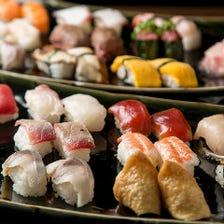 寿司&牛しゃぶしゃぶが食べ放題