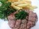 馬肉のフィレアメリカン (ベルギー風タルタルステーキ)