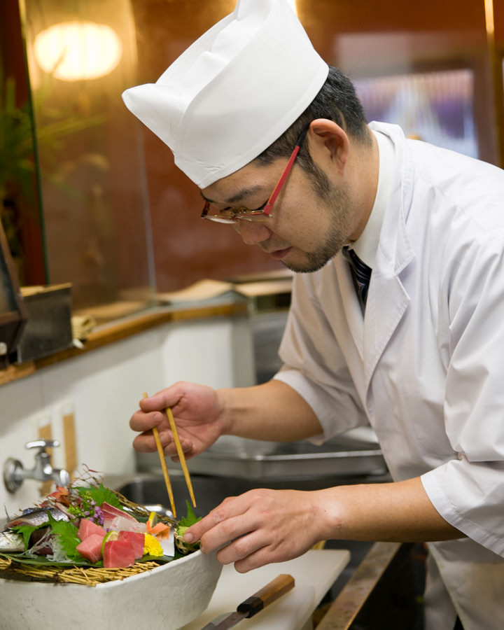 絶品和食と自慢の日本酒・焼酎を是非
