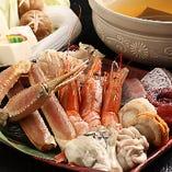 溢れる大漁海鮮!飲み放題付き 海鮮鍋会席