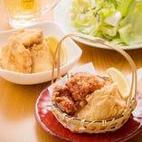 日本唐揚協会からあげグランプリW金賞受賞☆「鶏の唐揚げ」と「塩ザンギ」の合盛り