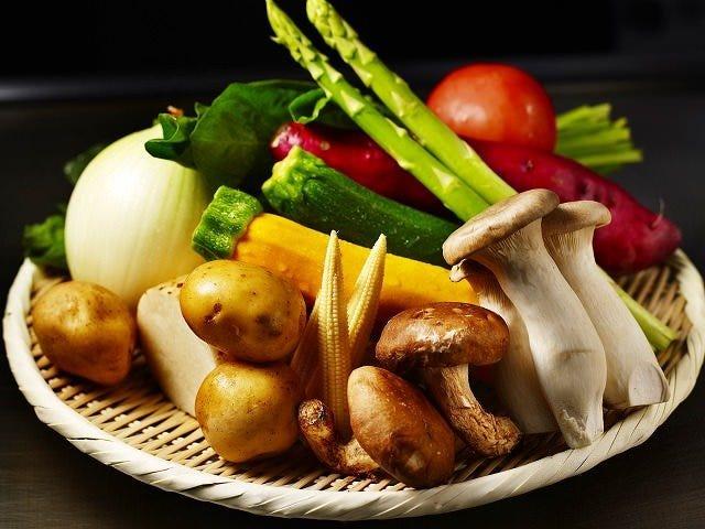 季節毎に変わる厳選された食材