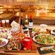パーティープラン一例。男性・女性皆で楽しめるお料理内容!