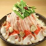 陶板焼き ~海鮮・豚バラ肉~