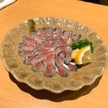 天草地蛸のカルパッチョ