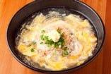 自家製麺と自家製スープで作った極上の一杯。