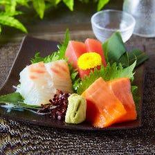 【地産地消♪】2時間飲み放題付「新鮮地魚コース」【全8品/5000円→4000円】