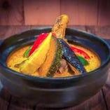 骨付きチキンカレー鍋