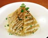 パルメザンチーズと ジャガイモのパリパリ焼き