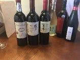 日本産ワイン各種ボトル