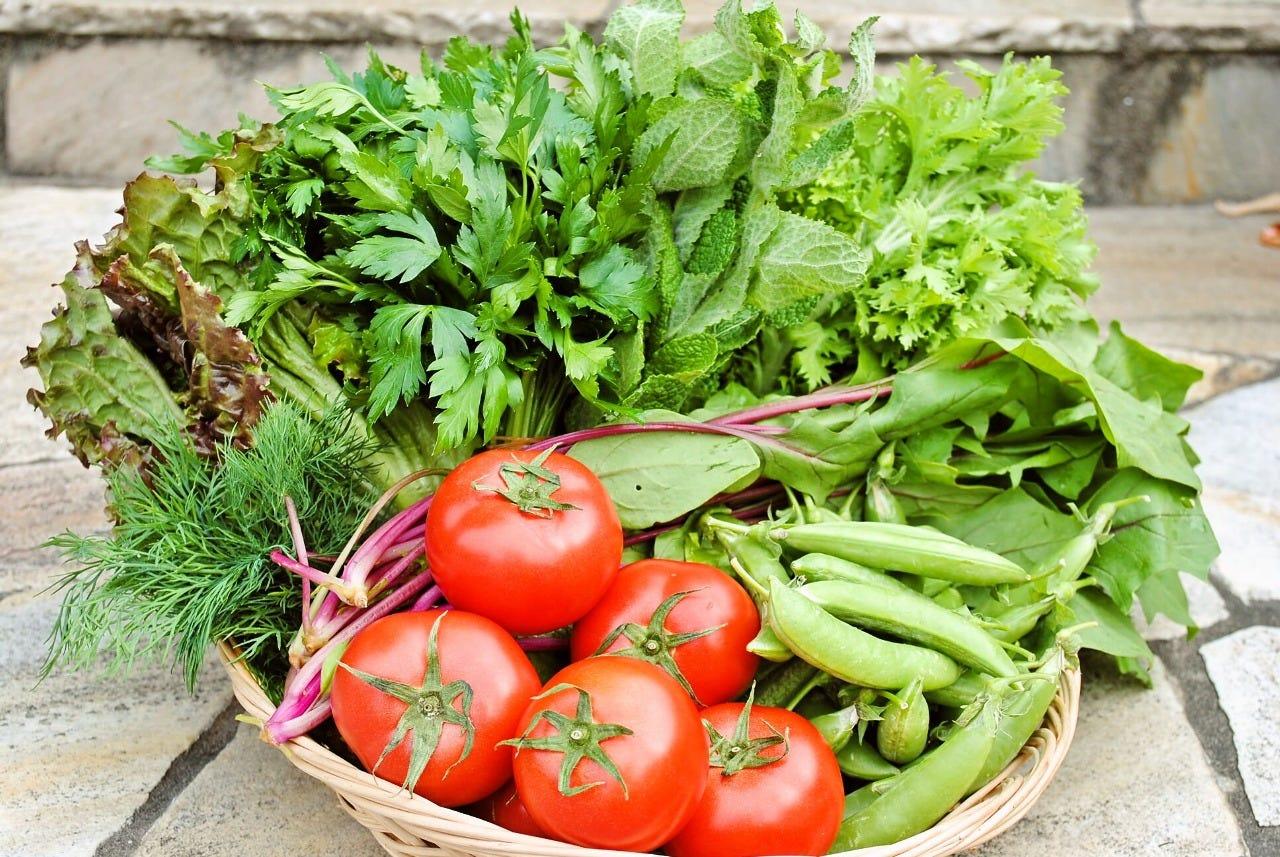 契約農家から届く新鮮野菜!!