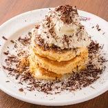 ココナッツ&チョコチップパンケーキ