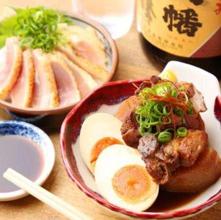 【要予約】麻婆鍋・柚子塩ちゃんこ・もつ鍋『選べる鍋コース』計9品 3980円