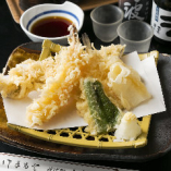 魚介天ぷら盛り合わせ