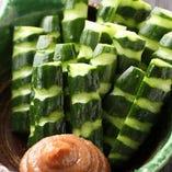 胡麻油で仕上げた カリカリ胡瓜