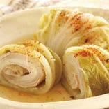 長崎産・白菜と白鴎豚のロール煮込み